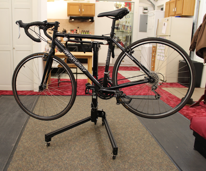Mini Project Hitch Receiver Bike Rack Stand